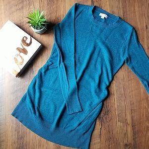 💕 Teal Liz Lange Maternity Sweater
